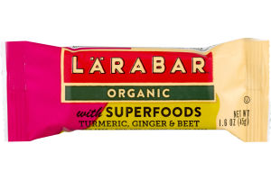 Larabar Organic with Superfoods Turmeric, Ginger & Beet