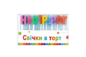 Свечи для торта Буквы Festa 13шт