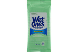 Wet Ones Sensitive Skin Hand Wipes - 15 CT