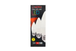Лампа світлодіодна ULTRA LED С37 7W E27 3000K