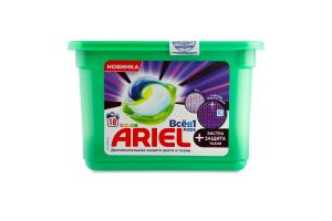 Средство моющее синтетическое жидкое в растворимых капсулах Экстра защита ткани Color Ariel 18х25.2г