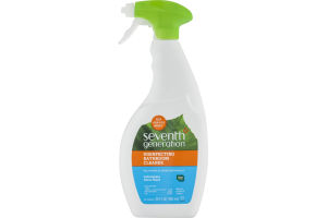 Seventh Generation Disinfecting Bathroom Cleaner Spray Lemongrass Citrus Scent