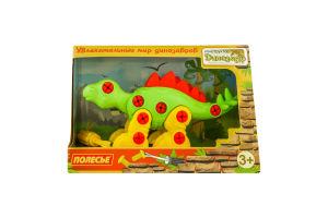 Конструктор для детей от 3лет №76793 Динозавр Полесье 1шт