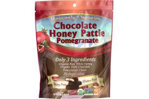 Heavenly Organics Chocolate Honey Pattie Pomegranate