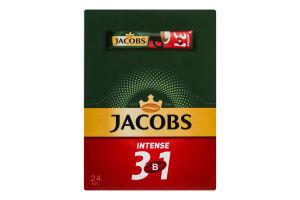 Напиток кофейный растворимый Intense 3в1 Jacobs к/у 24х12г