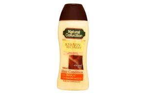 Бальзам-ополіскувач для волосся Мигдальна олія Keratin Recovery Natural Collection 300мл