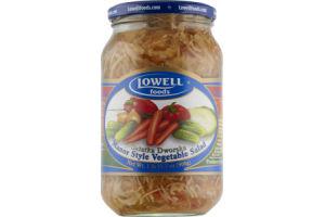 Lowell Foods Manor Style Vegetable Salad