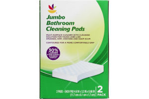 Ahold Jumbo Bathroom Cleaning Pads - 2 CT