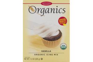 Organics European Gourmet Bakery Vanilla Organic Icing Mix