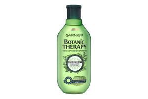 Шампунь для волос Зеленый чай, эвкалипт и цитрус Botanic Therapy Garnier 400мл