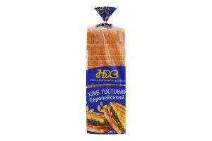 Хлеб тостовый Европейский Ново-Баварський хлібозавод м/у 500г