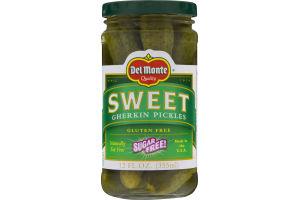Del Monte Sweet Gherkin Pickles Sugar Free
