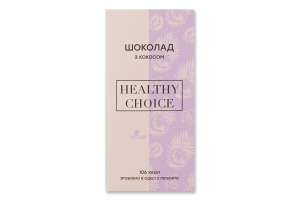 Шоколад з кокосом Healthy Choice к/у 25г