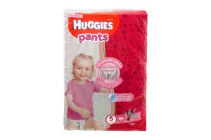 Трусики-підгузники huggies 5, 34шт Дівчатка