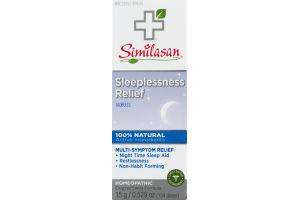 Similasan Sleeplessness Relief Globules