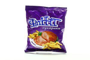 Сухарики со вкусом ветчины с горчицей Flint м/у 90г