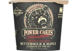 Kodiak Cakes Power Cakes Unleashed Buttermilk & Maple Flapjack On The Go