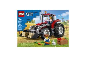 Конструктор для детей от 5лет №60287 Tractor City Lego 1шт