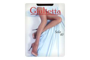 Колготи жіночі Giulietta Solo 40den 2-S nero