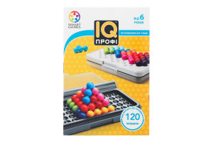 Гра настільна для дітей від 6років IQ Профі Smart Games 1шт