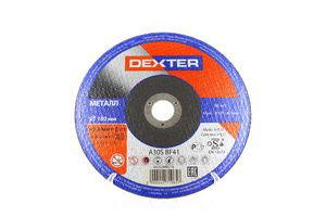ВІДРІЗ ДИСК МЕТАЛ D180X2.5 DEXTER