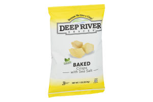 Deep River Snacks Baked Crisps with Sea Salt