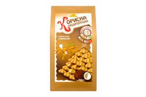 Печиво пісочне З кокосовою стружкою Корисна Кондитерська к/у 300г