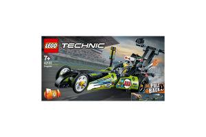 Конструктор для детей от 7лет №42103 Dragster Technic Lego 1шт