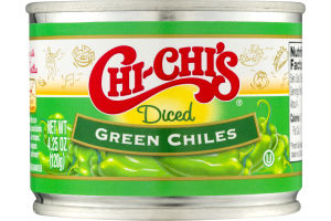Chi-Chi's Green Chiles Diced
