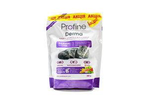 Корм Profine Cat Derma для котів з лососем та рисом 300г