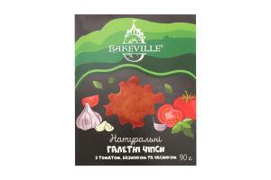 Чипсы галетные с томатом, базиликом и чесноком Bakeville к/у 90г