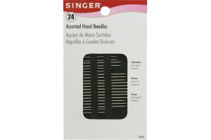 Singer Assorted Hand Needles - 24 CT