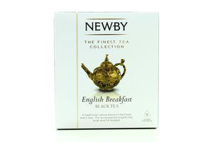 Чай Newby Англійський Сніданок чорний 15*2,5г