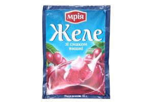 Желе быстрого приготовления со вкусом вишни Мрія м/у 90г
