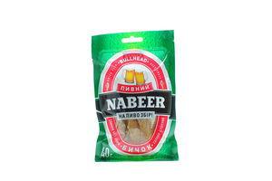 Бычок солено-сушеный тушки б/ш Пивний Nabeer м/у 40г