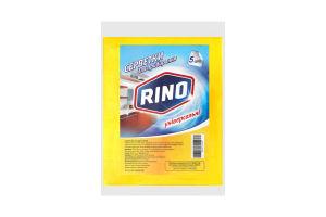 RINO серветки для прибирання універсальні віскозні 5шт
