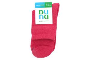 Дюна шкарпетки дитячі 471 р. 22-24 малиновий