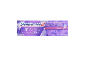 Зубная паста 3Dwhite Luxe Гламур Blend-A-Med 75мл
