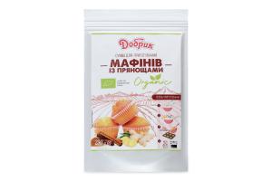 Смесь для приготовления маффинов с пряностями органическая Добрик д/п 250г