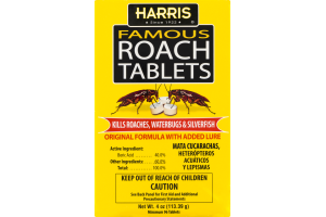 Harris Famous Roach Tablets