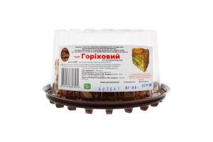 Торт бісквітний Горіховий Солодка Хата п/у 450г