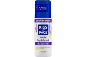 Kiss My Face Lavender Liquid Rock Deodorant