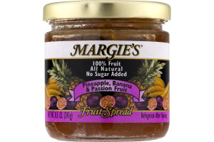 Margie's Fruit Spread Pineapple, Banana & Passion Fruit