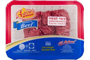 Aaron's Best Ground Beef 80% Lean Kosher