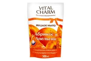 Мыло жидкое Абрикос и Апельсин Vital Charm 500мл