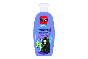 Шампунь для собак с черной шерстью Topsi 200мл