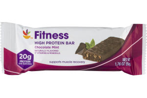 Ahold Fitness High Protein Bar Chocolate Mint