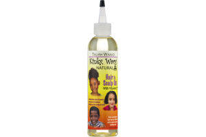 Taliah Waajid Kinky, Wavy, Natural Hair & Scalp Oil With Vitamin E