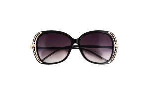 Очки солнцезащитные женские с блестками в ассорт
