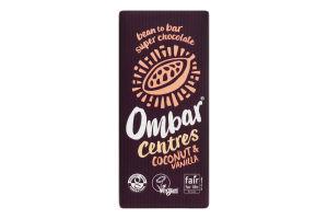 Шоколад молочн Ombar с кокосовым молоком 55% какао
